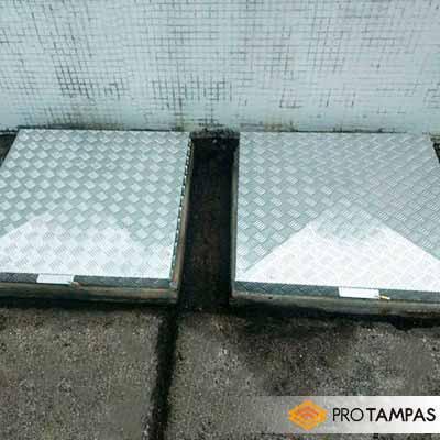 Fábrica de tampas de alumínio