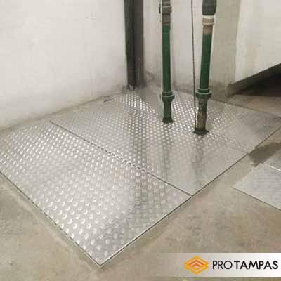 Fabricante de tampas de alumínio