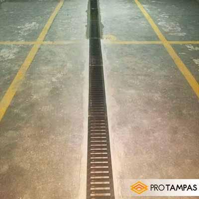 Grelha para piso garagem