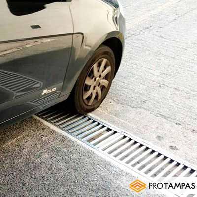 Grelhas de alumínio para piso