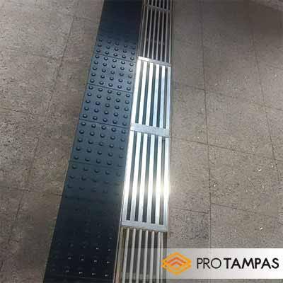 Grelhas para pisos industriais