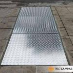 Tampa de inspeção alumínio