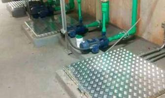 Tampa metálica para cisterna